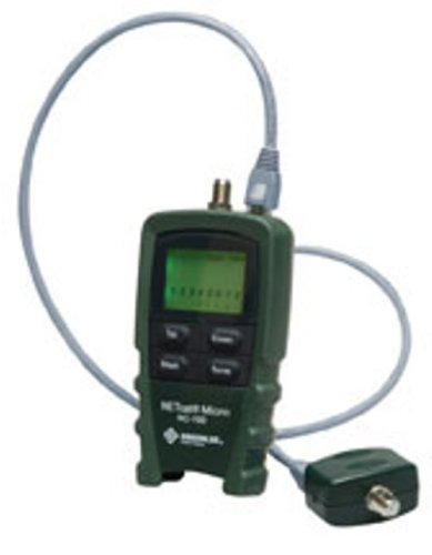(Greenlee NC-100 NETcat Micro Digital Voice, Data and Video Wiring Tester)