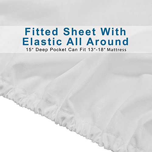 Microfiber Bed Sheet Set 6 Piece Sleep Better Than Ever