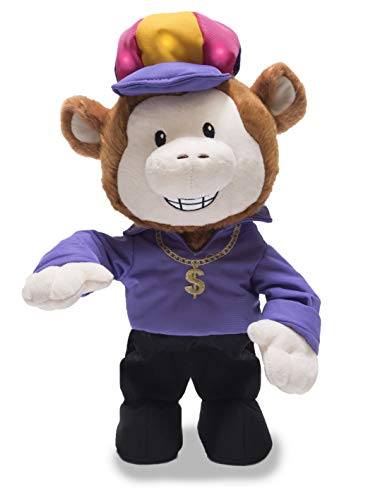 - Cuddle Barn Animated Plush Toy Funky Monkey Sings '24K Magic'
