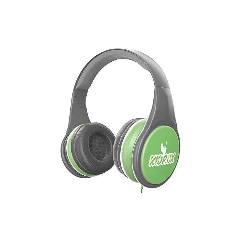 4b147d86be3 KidRox RS4 Kids Headphones 85dB Volume Limited Adjustable and Safe Hearing  Protection Tangle Free Wired On-Ear Earphones for Children Toddler Boys  Girls ...
