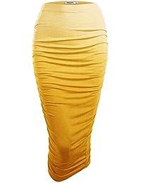 Amazon.com: Yellow - Skirts / Clothing: Clothing, Shoes & Jewelry