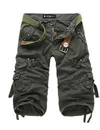 Men's Cargo Shorts, Quick-dry Design