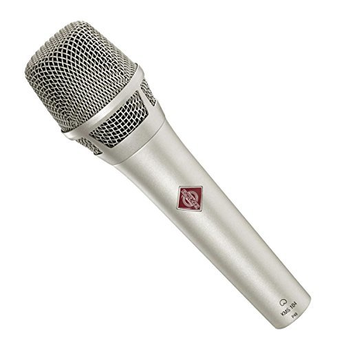Neumann KMS 104 D ni | Solution-D Digital Cardioid Handheld Microphone Nickel - Neumann Kms 104 Handheld
