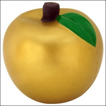Golden Apple Stress Ball ()