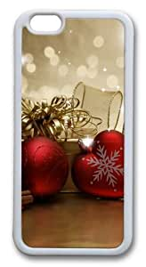 Christmas love TPU Silicone Case Cover for iphone 6 plus 5.5 inch White