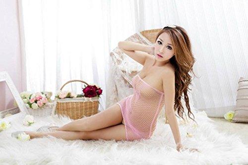 Pigiama Donne Rosa Bodystocking S Intima Lingerie Crotchless Ru Biancheria Xiang Prospettiva Pwqv88
