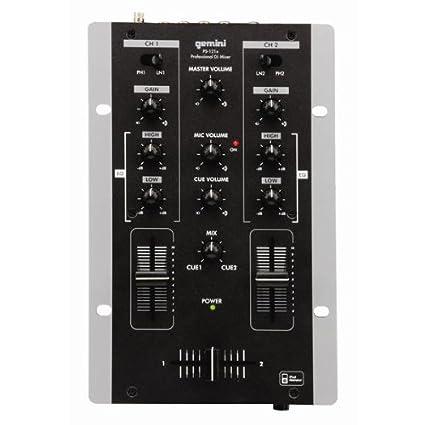 Gemini Table De Mixage Ps 121 X Amazonfr Instruments De