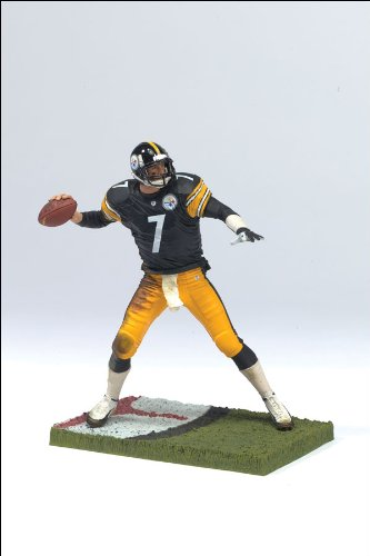 Mcfarlane Toys Nfl 3 Inch Sports Picks Series 4 Mini Action Figure Ben Roethlisberger  Pittsburgh Steelers