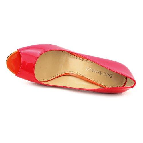 Enzo Angiolini Maiven Womens Size 10 Pink Peep Toe Pumps Heels Shoes UK 8 ArV6u5FK3k