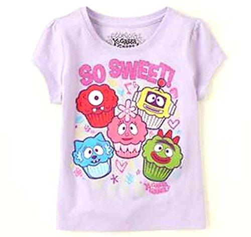 Yo Gabba Gabba Nickelodeon Toddler Girl Purple Short