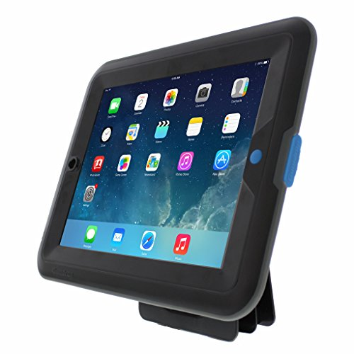 Gumdrop Cases Marine & Industry Weather Resistant Protective Case for Apple iPad Air Rugged Tablet Case Shock Absorbing Cover Black/Black A1474, A1475, A1476