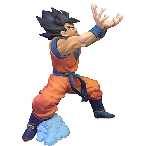 Elibeauty Dragon Ball Son Goku Super Saiyan PVC Figure, Vinyl Collectible Action Figure Best Gift for Kids Adults and Anime Fans( Style 01-Son Goku)
