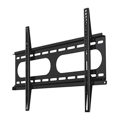 chollos oferta descuentos barato Hama 118604 Soporte de pared para televisores de 32 a 56 carga máxima 60 kg VESA 600x400 negro