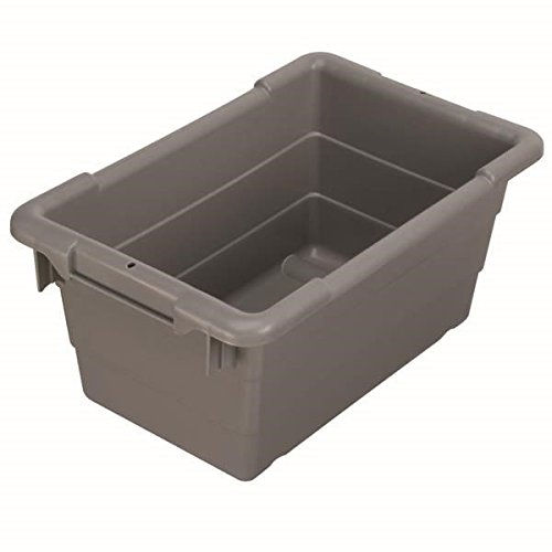 Akro-Mils 34304AM Cross-Stack Akro Tub, Gray