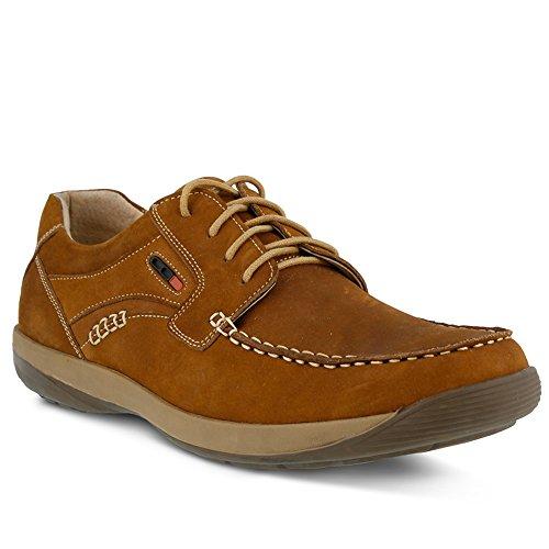 Spring Step Heren Heren Duncan Nautische Schoen Medium Bruin