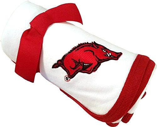 Future Tailgater Arkansas Razorback Baby Receiving Blanket