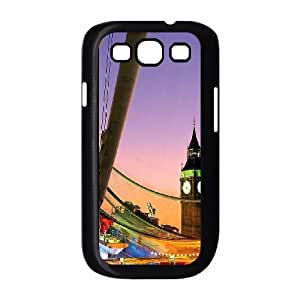 London 8 Samsung Galaxy S3 9300 Cell Phone Case Black&Phone Accessory STC_938205