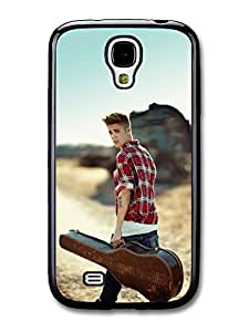 AMAF ? Accessories Justin Bieber Guitar Portait Belieber JB Popstar case for Samsung Galaxy S4