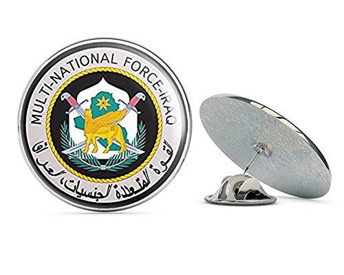 NYC Jewelers Round Multi National Force Iraq (Army Iraqi) Metal 0.75