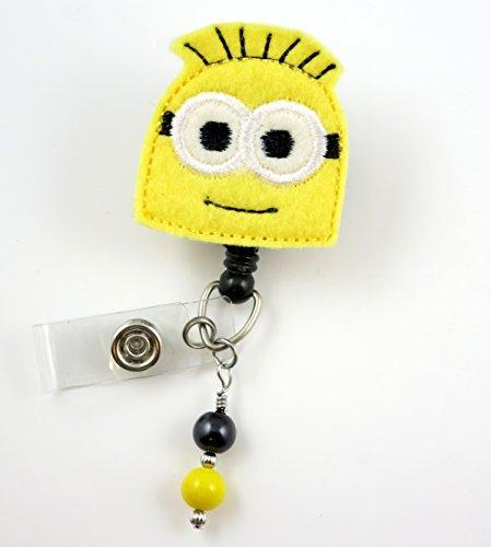 Minon Phil - Nurse Badge Reel - Retractable ID Badge Holder - Nurse Badge - Badge Clip - Badge Reels - Pediatric - RN - Name Badge Holder