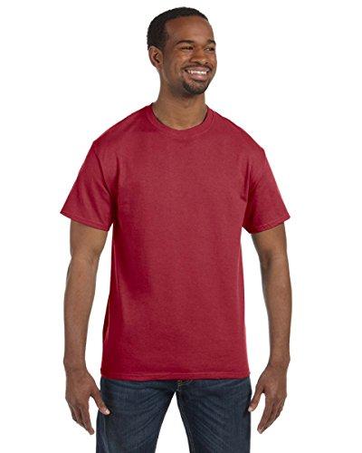 Jerzees Dri-Power Mens Active T-Shirt X-Large Crimson
