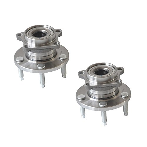 DRIVESTAR 512335x2 Pair:2 Brand New Rear LH and RH Wheel hub & Bearing non-ABS for Ford Edge Lincoln MKX