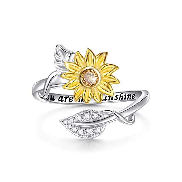 Available in Silver Rose and Yellow Gold River Island Sterling Silver Big Open Flower Adjustable Toe Ring