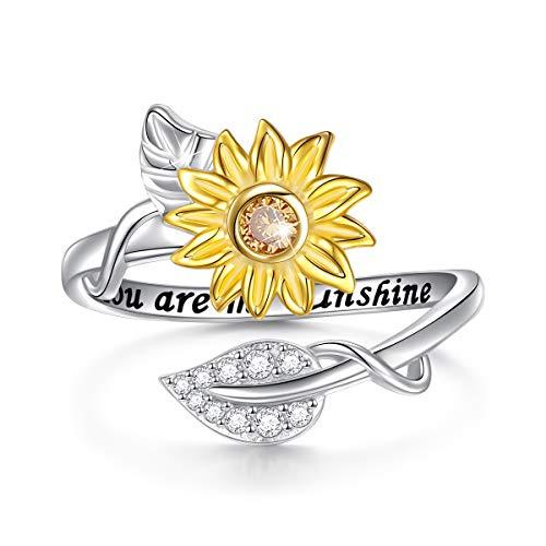 Sterling Silver Sunshine Sunflower Adjustable product image