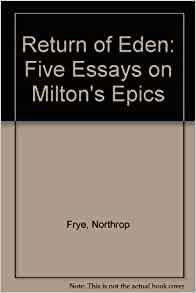 Writer of essays on milton