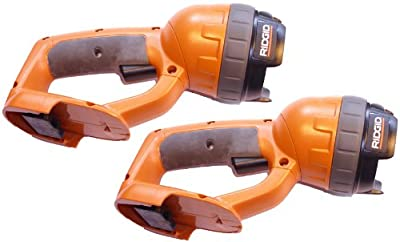 Ridgid 14.4V Cordless Flashlight R839 Tool Only, No Battery or Charger included (Ni-Cad ONLY) (2 Pack) # R839