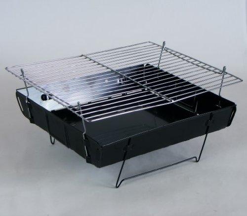 faltbarer kleiner grill f r unterwegs balkon klappgrill faltgrill camping grill ebay. Black Bedroom Furniture Sets. Home Design Ideas