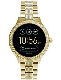 Q Women's Gen 3 Venture Stainless Steel Smartwatch, Color: Gold-Tone (Model: FTW6001)