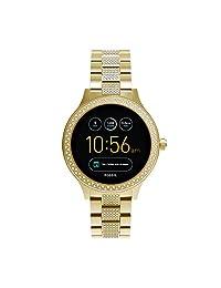Fossil- Smartwatch Digital, para mujer, Dorado, FTW6001
