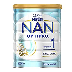 Nestlé NAN OPTIPRO Stage 1 Starter Infant Formula Powder Tin 800g
