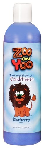 Zoo On Yoo Tame Your Mane Lion Kid's Conditioner – Blueberry 12 Oz, Health Care Stuffs