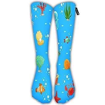 Amazon.com: Running Socks For Men Women Cartoon Underwater