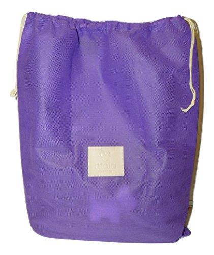 Mala spalla donna Borsa Mala Purple Leather Leather Borsa a vYCwgnxdq