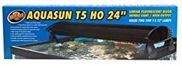 Zoo Med AquaSun T5-HO Double Light Linear Fluorescent Hood, 24-Inch