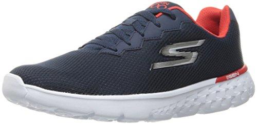 Skechers Performance Men's Go Run 400 Running Shoe, Navy/Red, 9 M US