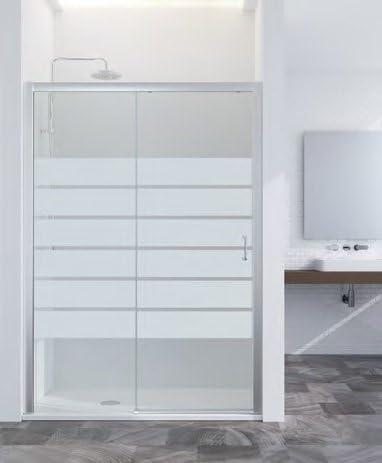 Mampara de ducha Summer Acces japonés: paredes fijo + paredes deslizante vidrio 6 mm Altura 1.95 cm: Amazon.es: Bricolaje y herramientas