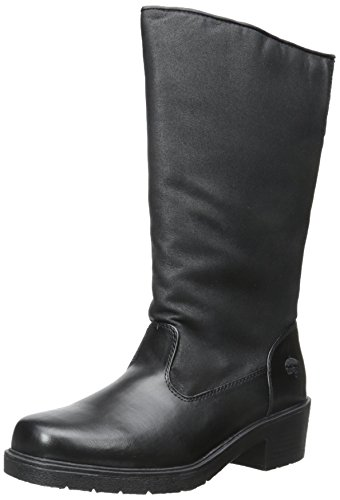 totes Women's Paula Winter Boots,Black,7 W US
