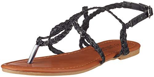 Mujer Tobillo Tira Negro de SANDALUP q7vtg4av