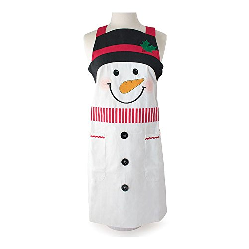Burton and Burton Snowman Adult Apron Decor,