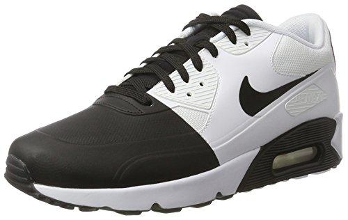 Nike Men's Air Max 90 Ultra 2.0 SE, BLACK/BLACK-WHITE, 10.5 M US