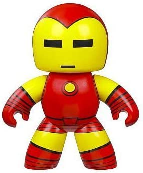 Marvel Mighty Muggs Series 1 Iron Man Vinyl Figure