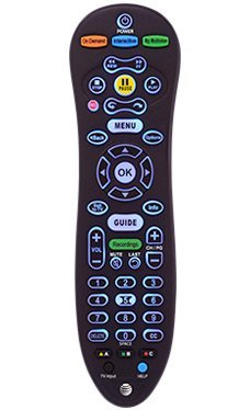 - AT&T U-Verse S30 Universal Remote Control Blue Back Light CY-RC1057-AT