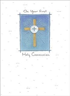 Amazon.com: En Tu tarjeta de primera Comunión con ficha de ...