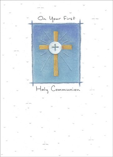 May Gods Blessings - Religious Communion - Card First Communion