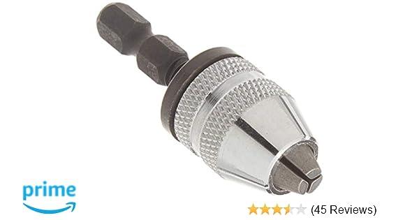 """For Makita-Dewalt IMPACT DRIVER 1//4/"""" Keyless Drill Bit Chuck Adapter GREAT KIT £"""