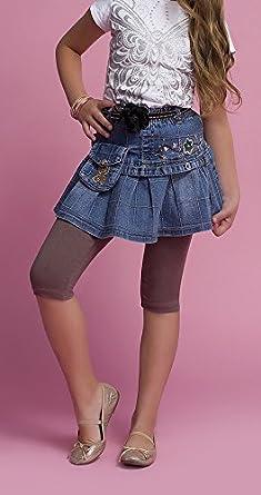 Childrens//Girls 3//4/Short Leggings Cotton M.T.R